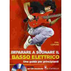 CAPONE IMPARARE A SUONARE IL BASSO ELETTRICO + CD