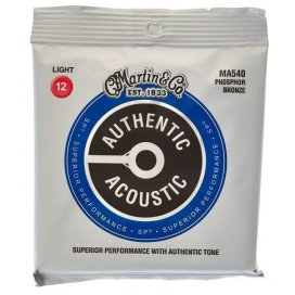 MARTIN MA540 AUTHENTIC LIGHT PH/BRONZE 12/54