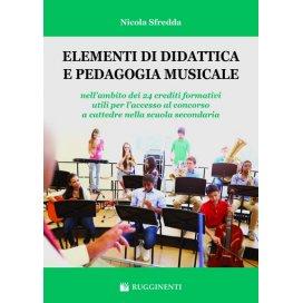 SFREDDA ELEMENTI DI DIDATTICA E PEDAGOGIA MUSICALE