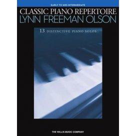 FREEMAN OLSON CLASSIC PIANO REPERTOIRE - 13 SOLOS