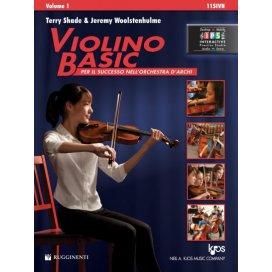 SHADE VIOLINO BASIC VOLUME 1 + CONTENUTI MULTIMEDIALI