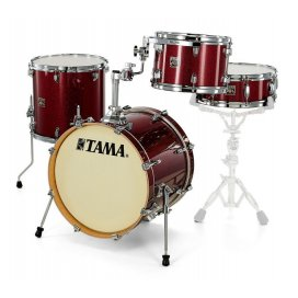 Tama CK48S-DRP - shell kit - finitura Dark Red Sparkle