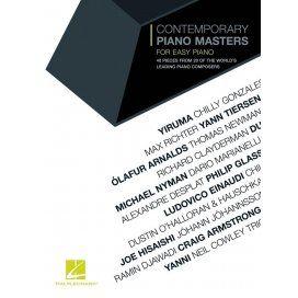 AAVV CONTEMPORARY PIANO MASTERS - EASY PIANO