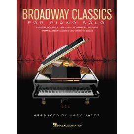AAVV BROADWAY CLASSIC FOR PIANO SOLO ARRANGIAMENTO HAYES