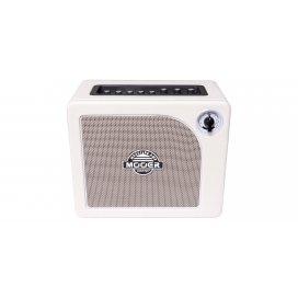 MOOER HORNET WHITE - 15 WATT MODELING GUITAR AMPLIFIER