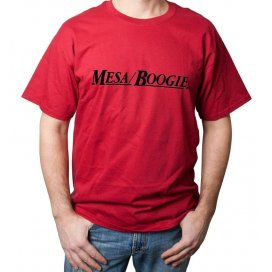 "Mesa/Boogie T-shirt ""Mesa Boogie"" rossa - taglia M"