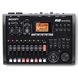 ZOOM R8 HARD DISK RECORDER DIGITALE 8 TRACKS