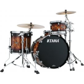 Tama WBS32RZS-MBR - shell kit - finitura Molten Brown Burst