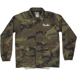FENDER CAMO COACHES JACKET M