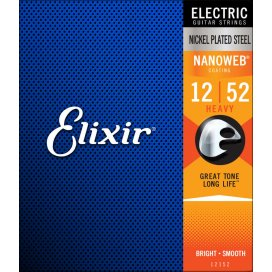 ELIXIR 12152 HEAVY 12-52 ELECTRIC