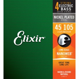 ELIXIR 14077 MEDIUM 45-105 LONG SCALE