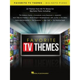 AAVV FAVORITE TV THEMES - PIANO