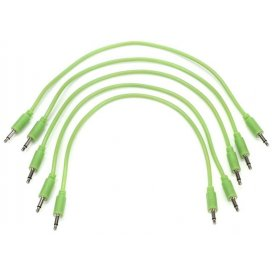 BLACK MARKET MODULAR PATCH CABLE 50 CM. 5-PACK GLOW IN THE DARK
