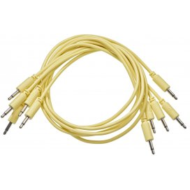 BLACK MARKET MODULAR PATCH CABLE 75 CM. 5-PACK YELLOW