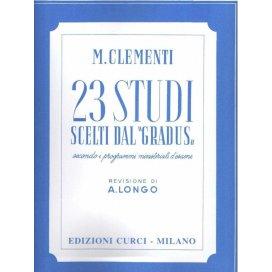 CLEMENTI 23 STUDI DAL GRADUS AD PARNASSUM ED. CURCI