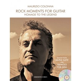 COLONNA ROCK MOMENTS FOR GUITAR - HOMAGE TO THE LEGEND