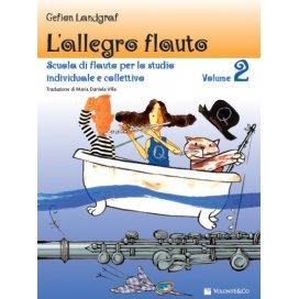 LANDGRAF L'ALLEGRO FLAUTO - SCUOLA DI FLAUTO VOLUME 2