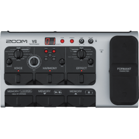 ZOOM V6 VOICE MULTIEFFECTS