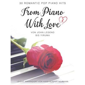 AAVV FROM PIANO WITH LOVE ARRANGIAMENTO HEUMANN