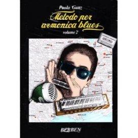 GANZ METODO PER ARMONICA BLUES NEW EDITION +CD