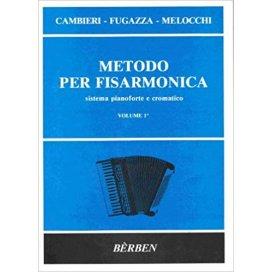 CAMBIERI/FUGAZZA/MELOCCHI METODO PER FISARMONICA VOLUME 1