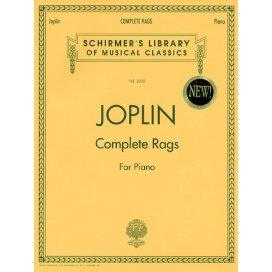 SCOTT JOPLIN COMPLETE RAGS FOR PIANO