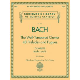 BACH THE WELL TEMPERED CLAVIER COMPLETE