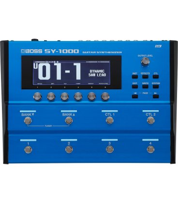 BOSS SY-1000 GUITAR SYNTHESIZER