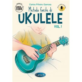 PINEIRO GARROSA METODO FACILE DI UKULELE +AUDIO ON LINE