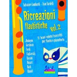 AAVV RICREAZIONI FLAUTISTICHE VOLUME 2