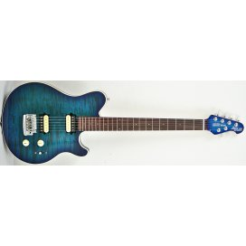 MUSIC MAN AXIS SUPER SPORT HH BALBOA BLUE QUILTED