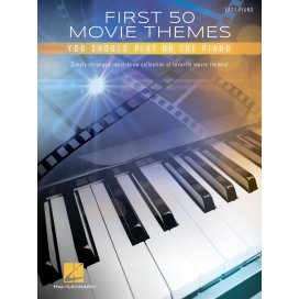 AAVV FIRST 50 MOVIE THEMES YOU SHOULD PLAY ON THE PIANO