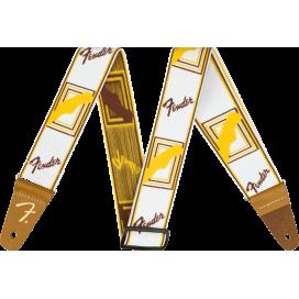 FENDER STRAP WEIGHLESS MONO W/B/Y