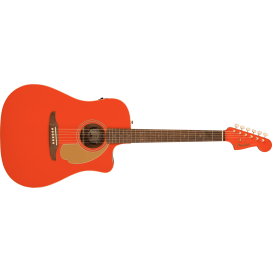 FENDER REDONDO PLAYER FIESTA RED WN