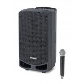 Samson Expedition XP310w - PA portatile ricaricabile con microfono palmare (542566 MHz)
