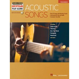 AAVV ACOUSTIC SONGS FOR GUITAR + AUDIO ONLINE