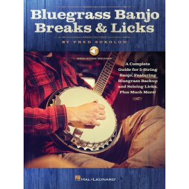 SOKOLOV BLUEGRASS BANJO BREAKS & LICKS +AUDIO ACCESS