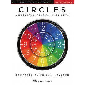 PHILLIP KEVEREN SERIES CIRCLES - CHARACTER ETUDES IN 24 KEYS