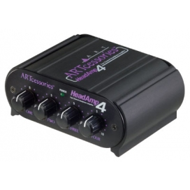 ART HEADAMP4 4 CHANNEL HEADPHONE AMP