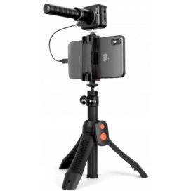 IK Multimedia iRig Mic Video Bundle - iRig Mic Video e iKlip Grip Pro