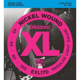 D'ADDARIO EXL170 XL 45-100 LONG SCALE