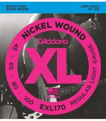 D'ADDARIO EXL170 XL 45-100 LONG SCALE