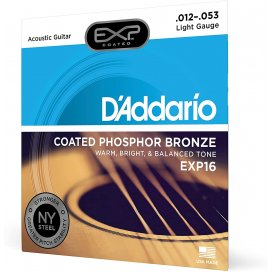 D'ADDARIO EXP16 LIGHT 12-53 MUTA PER ACUSTICA PH-BRONZE