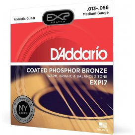 D'ADDARIO EXP17 MEDIUM 13-56 MUTA PER ACUSTICA PH-BRONZE