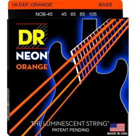 DR NOB-45 HI DEFINITION ORANGE NEON STRINGS