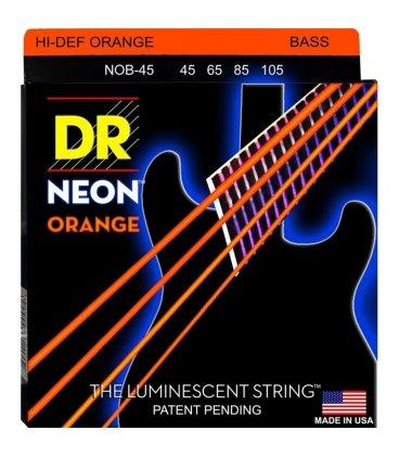 DR NOB-45 HI DEFINITION ORANGE NEON STRINGS