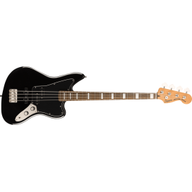 SQUIER CV JAGUAR BASS 32 LRL BLACK