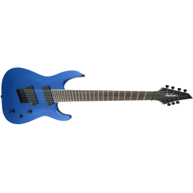 JACKSON FAN FRET SLAT 7 METALLIC BLUE