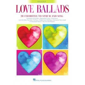 AAVV LOVE BALLADS FOR UKULELE