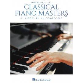 AAVV CLASSICAL PIANO MASTERS: INTERMEDIATE